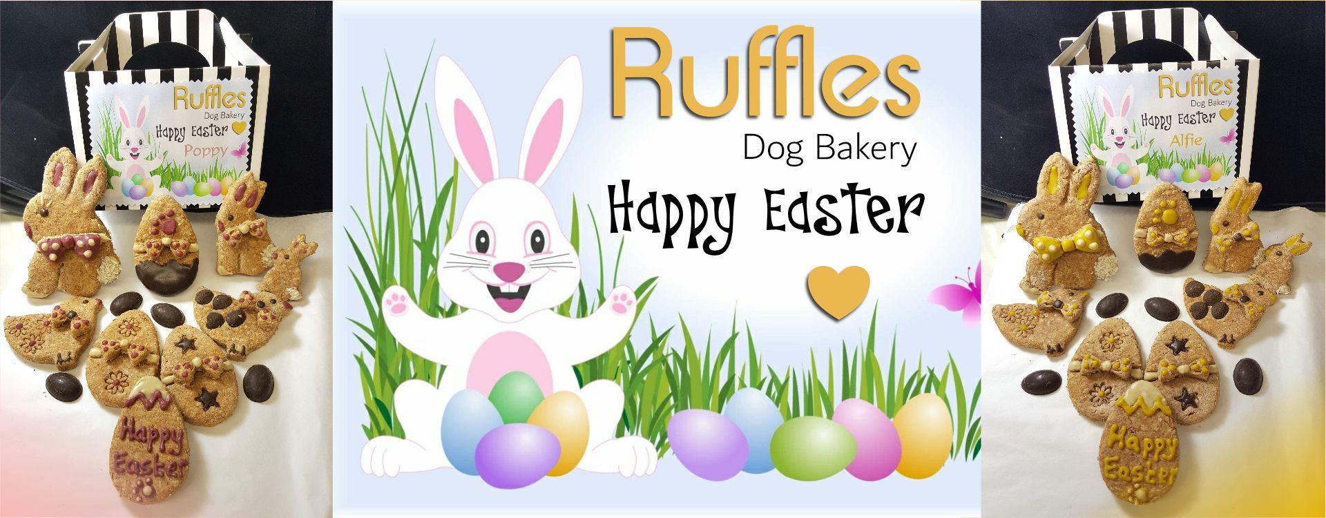 Easter Dog Treat Box Header